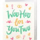 Little Low Studio Woo Hoo for You Two Wedding Card