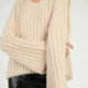 Sadie & Sage Jaime Pullover Sweater - Cream FINAL SALE