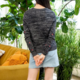 THML Heart Embroidered Sweater