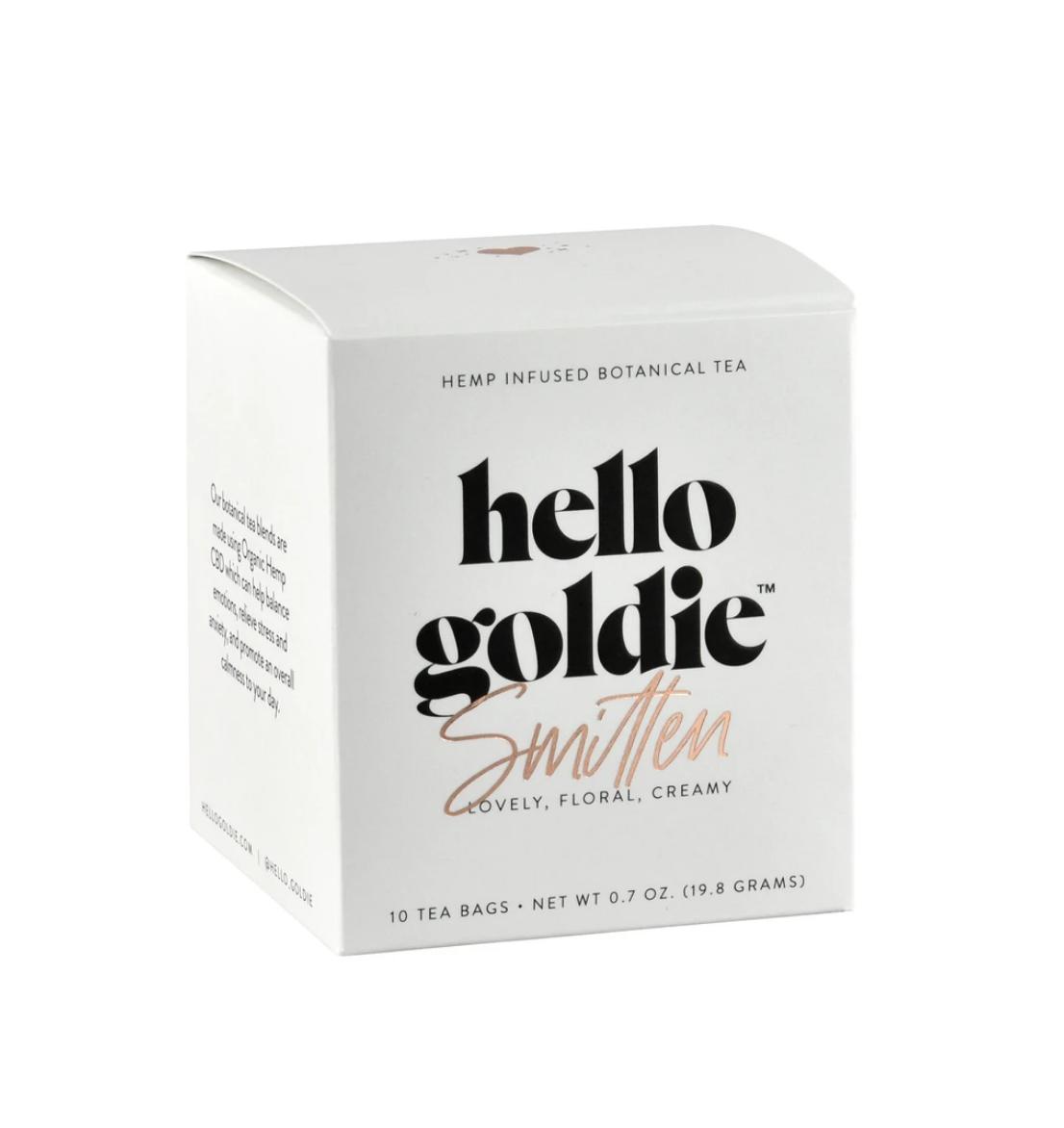 Hello Goldie Smitten Tea
