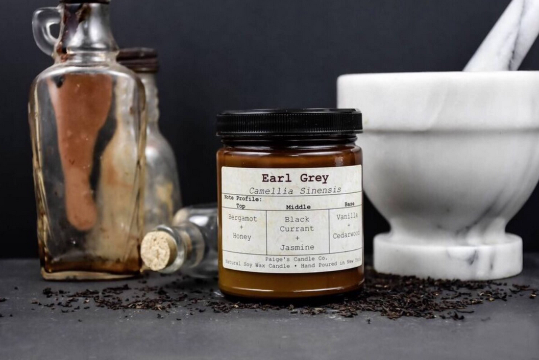 Paige's Candles Paige Earl Grey Taxonomy Candle- 16oz