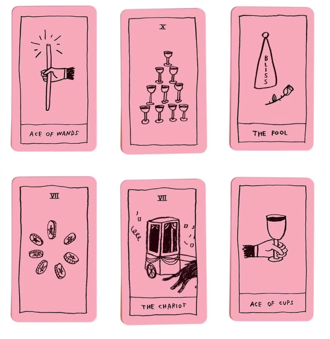 Adam J Kurtz The OK Tarot Deck