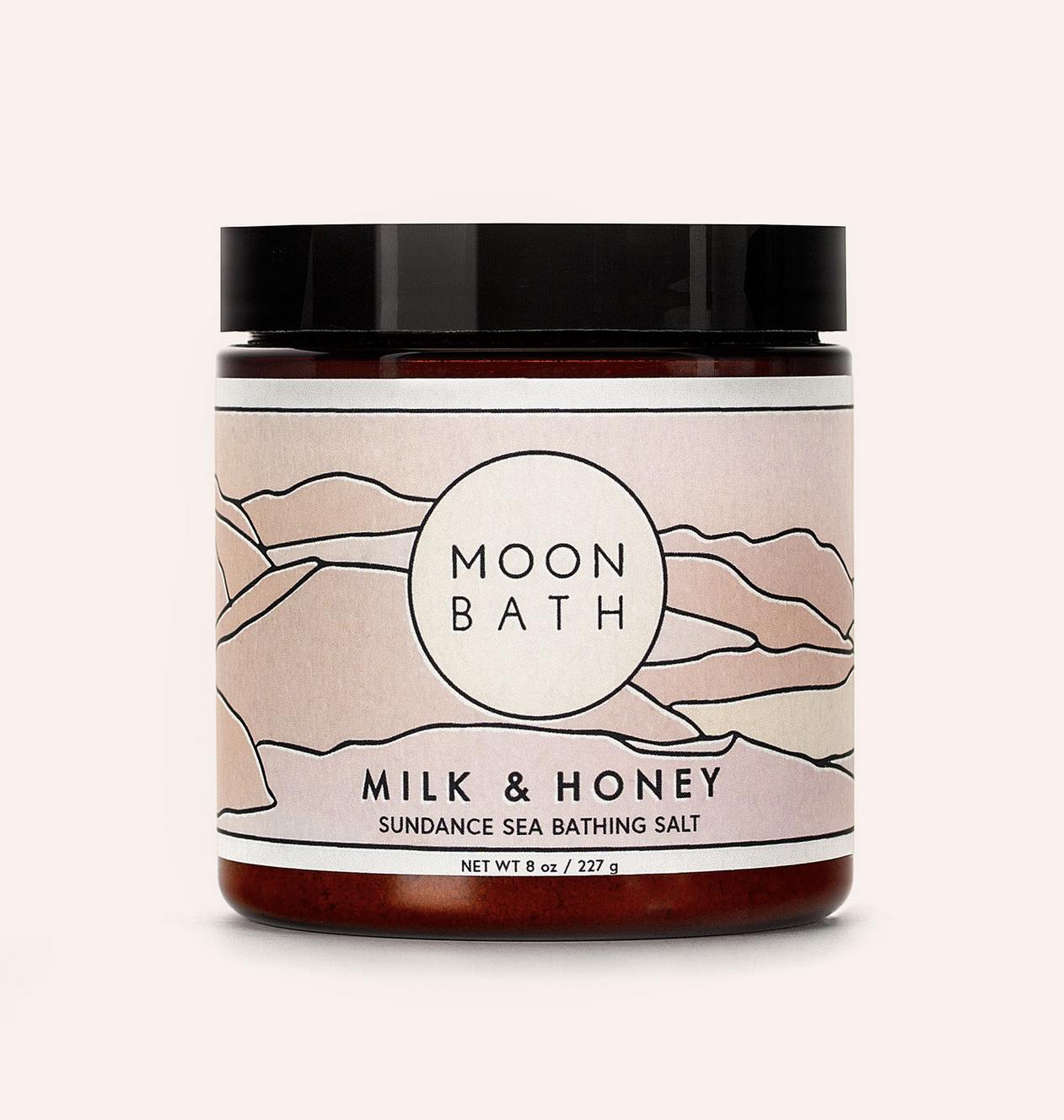 Moon Bath Milk & Honey Bath Salt