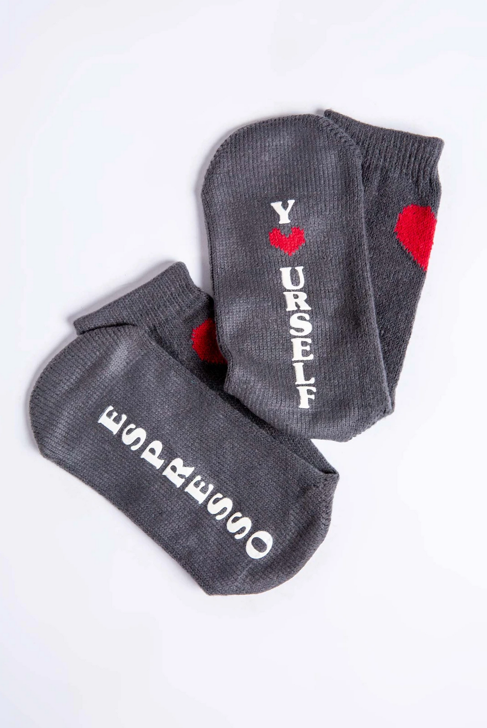 "PJ Salvage Socks-""Espresso Yourself"""