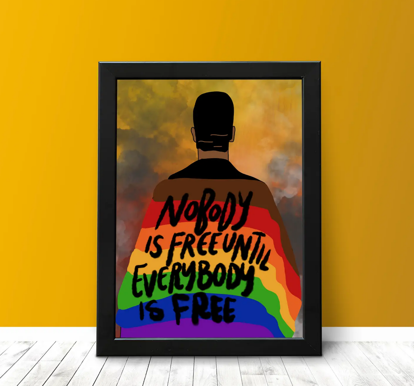 Citizen Ruth Nobody is Free Print