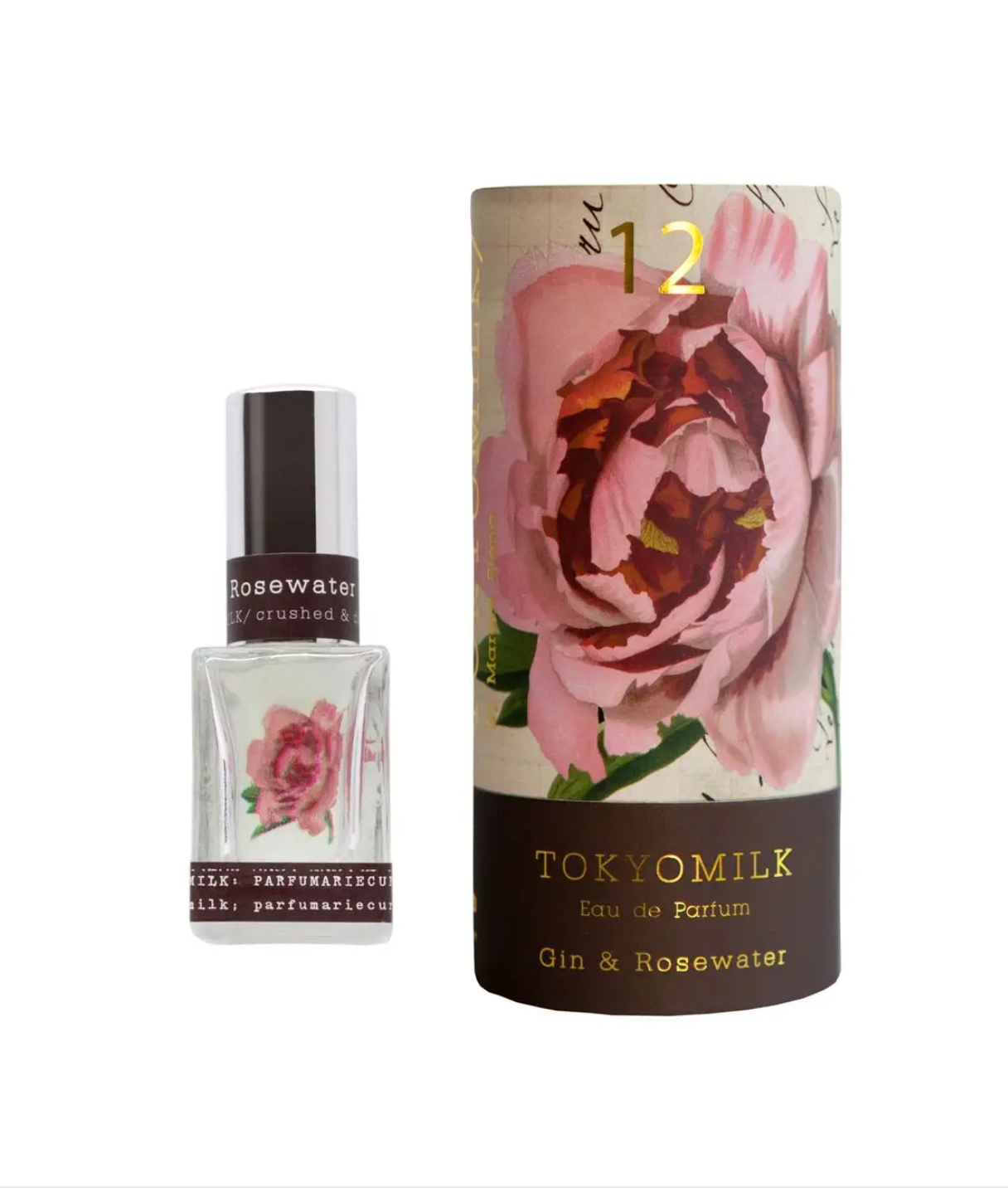 Tokyo Milk Gin and Rosewater No. 12 Parfum- Boxed