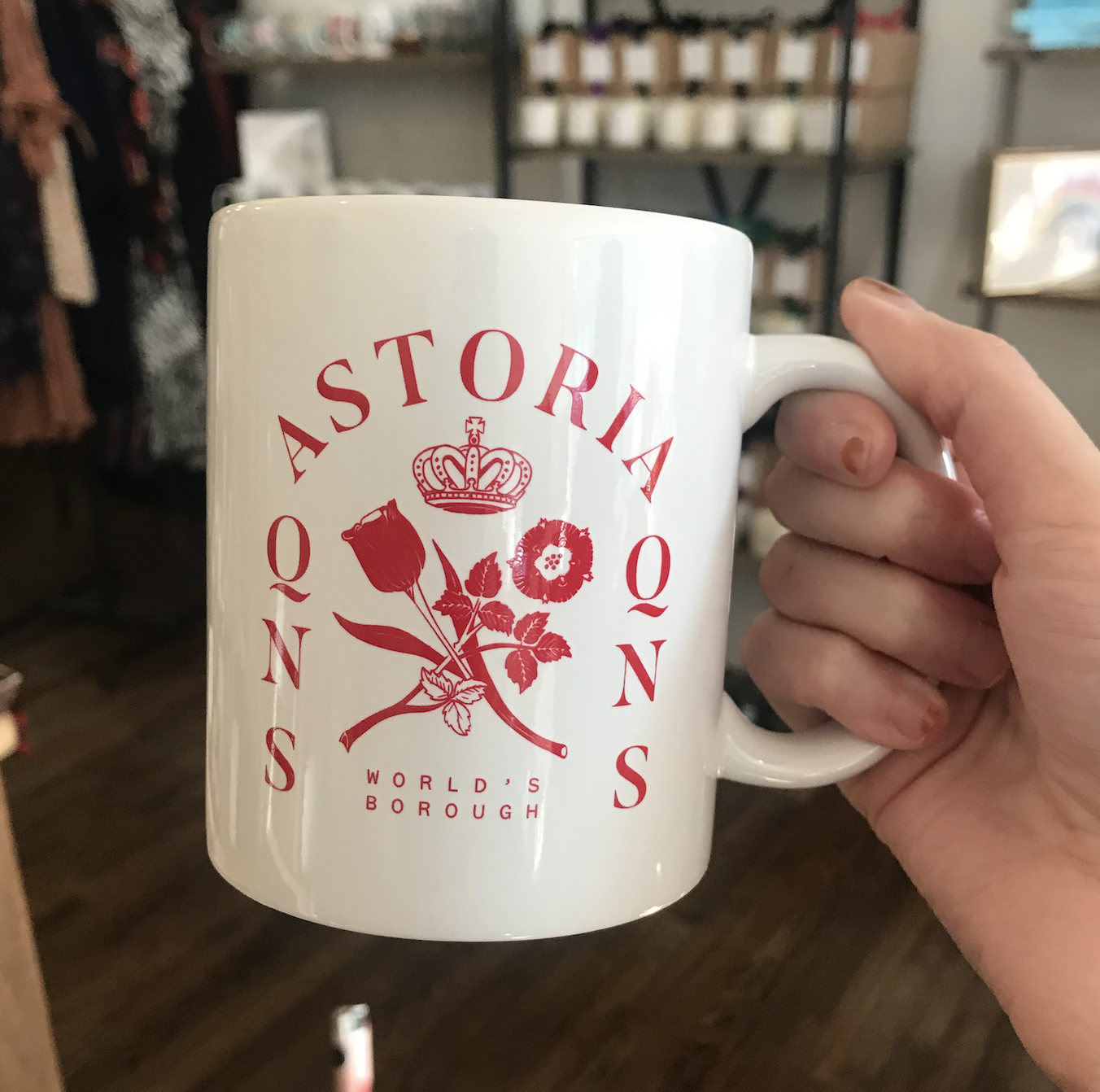 Design Brand Print World's Borough Mug