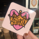 Design Brand Print Astoria Heart Sticker