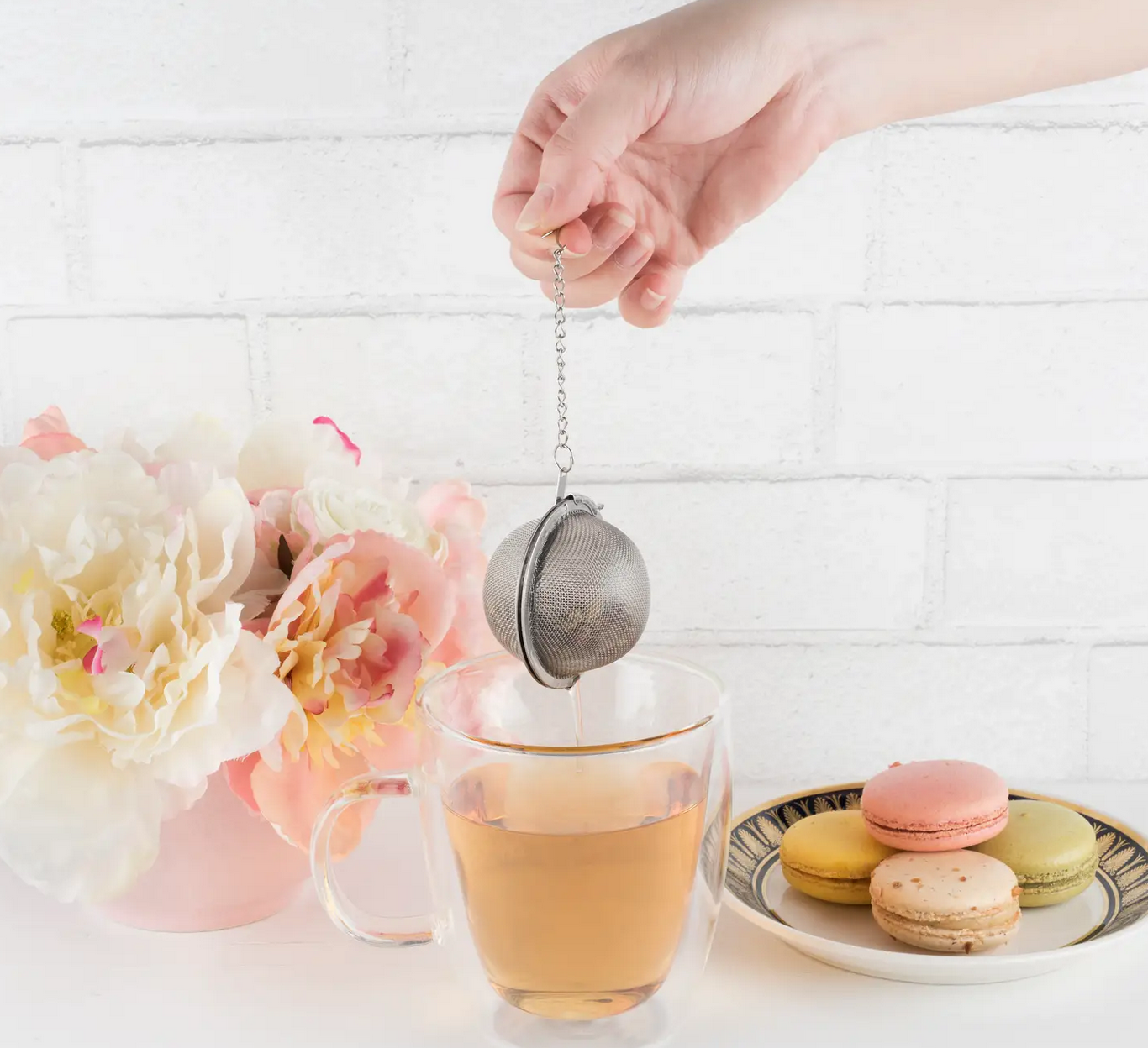 Pinky Up Small Tea Infuser Ball-Stainless Steel