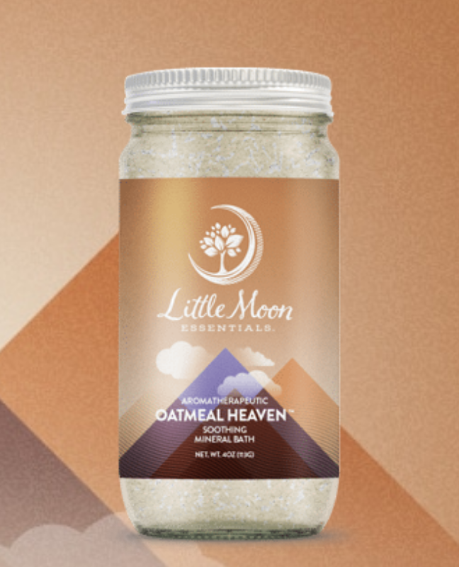 Little Moon Essentials Bath Salt 4oz-Oatmeal Heaven