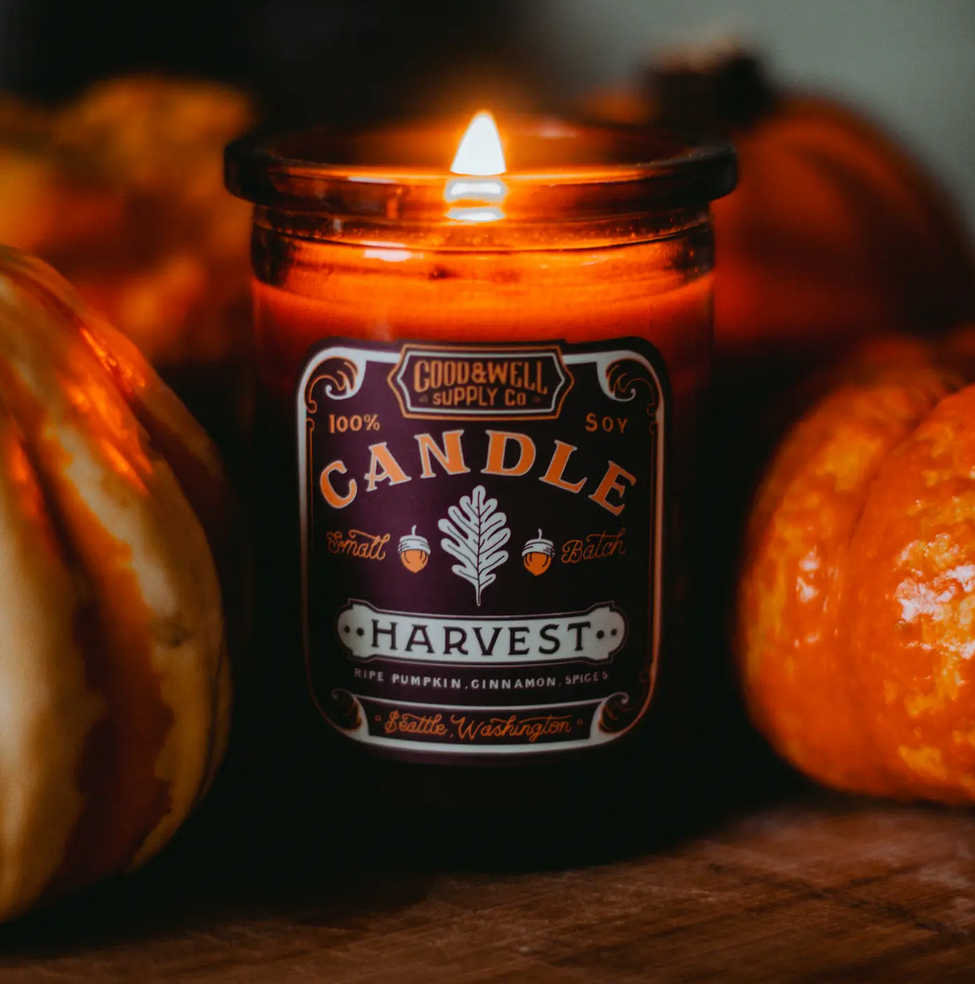 Good & Well Supply Harvest Apothecary Candle