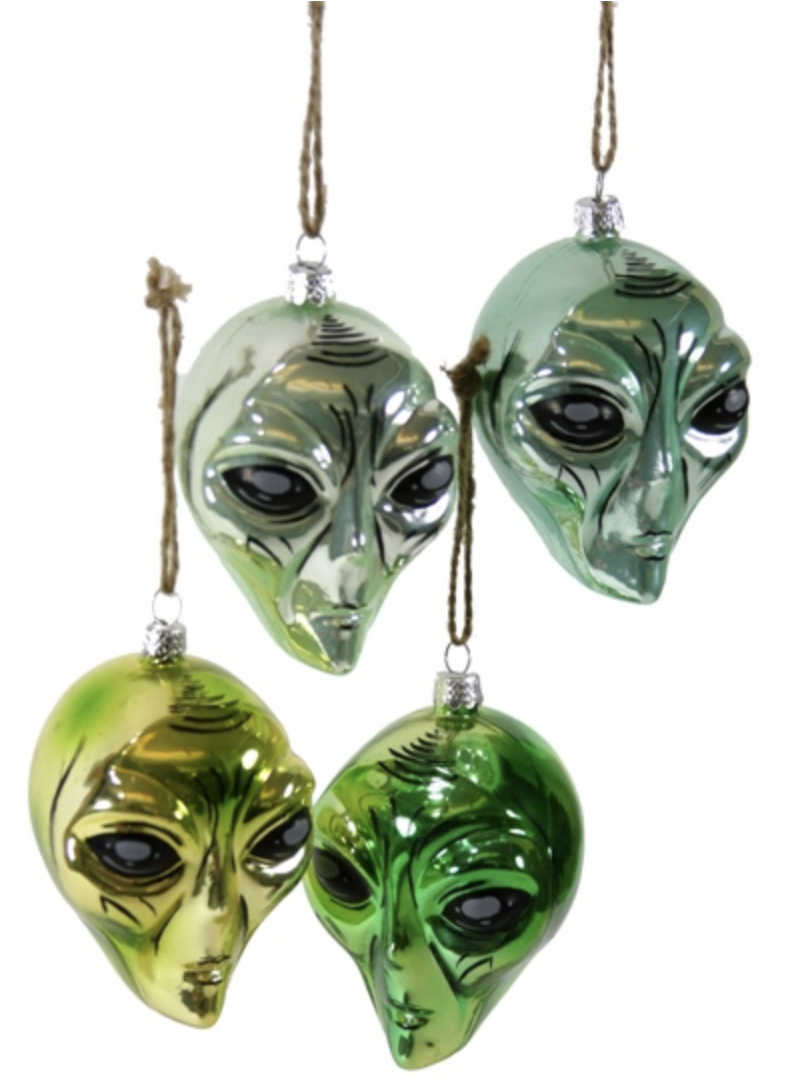 Cody Foster & Co Aliens Ornament(Assorted)