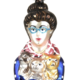 Cody Foster & Co Cat Lady Ornament