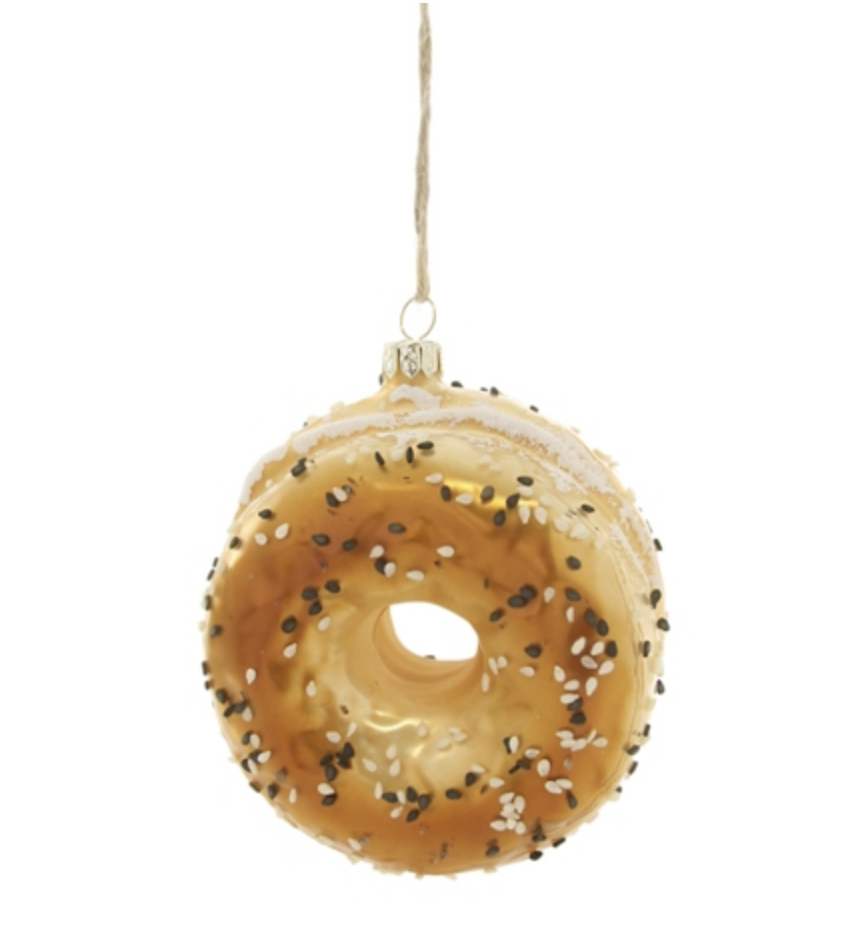 Cody Foster & Co Everything Bagel Ornament
