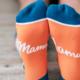 Woven Pear Mama Llama Socks