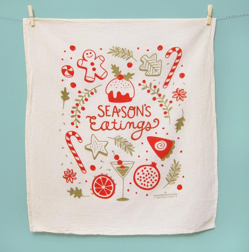 The Neighborgoods Tea Towel-Season's Eatings