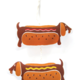 The Neighborgoods Holiday Ornament-Hot Dog