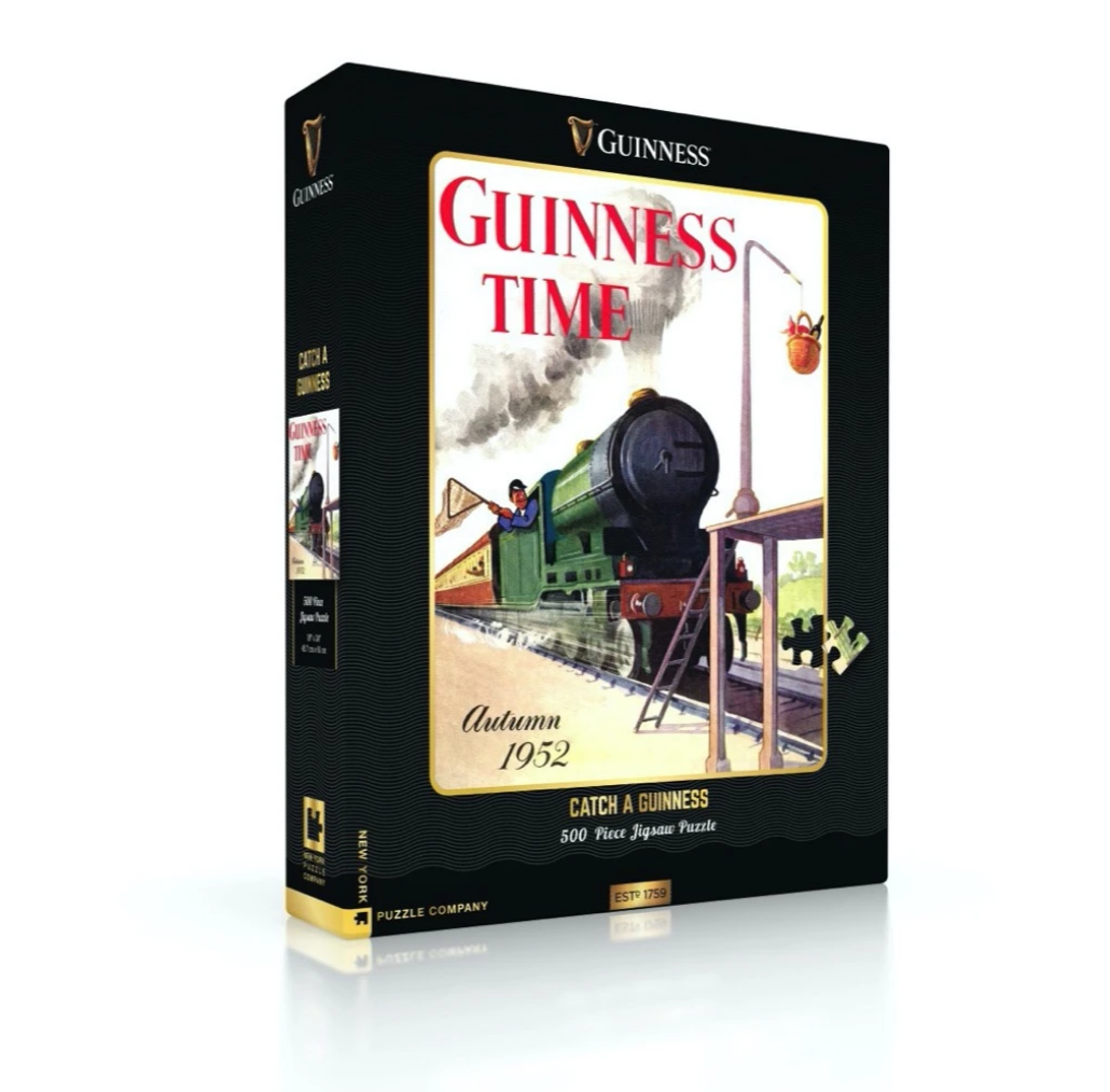 New York Puzzle Company Catch a Guinness Puzzle