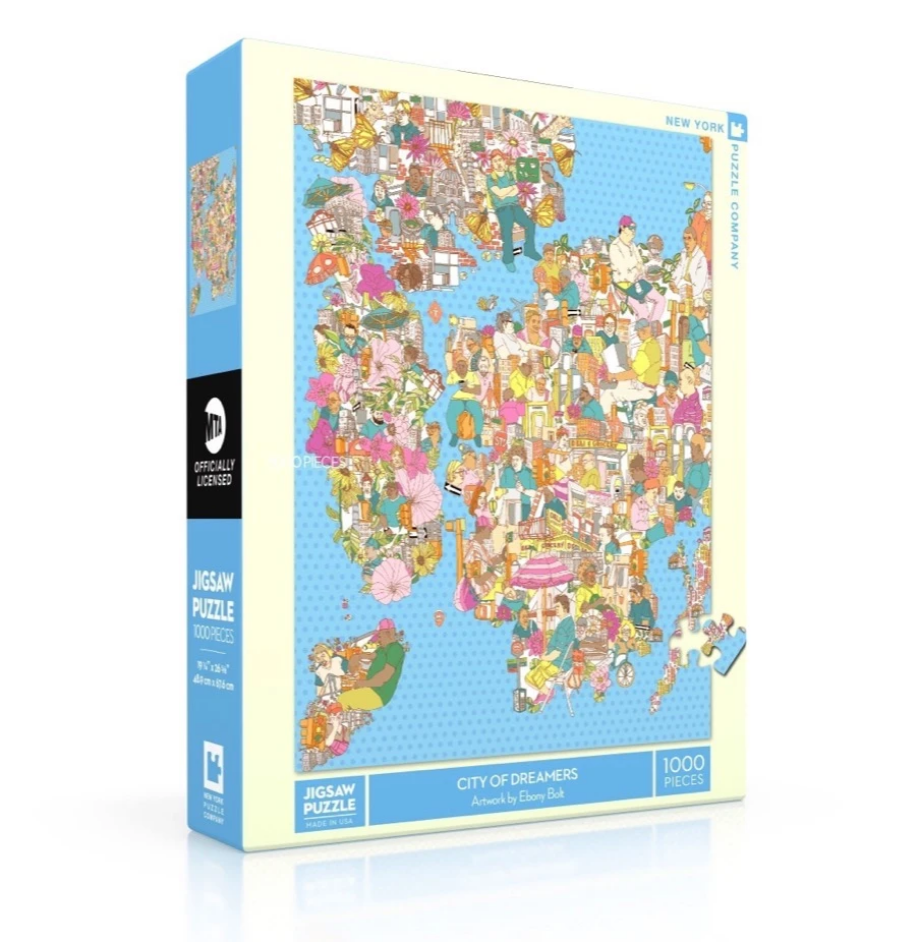 New York Puzzle Company City of Dreamers Puzzle