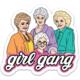 Brittany Paige Golden Girls Girl Gang Sticker