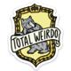 "Brittany Paige HP Hufflepuff ""Total Weirdo"" Sticker"