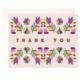 Bloomwolf Studio Folk Thank You Greeting Card