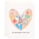 Bloomwolf Studio Thank You Stethoscope Greeting Card