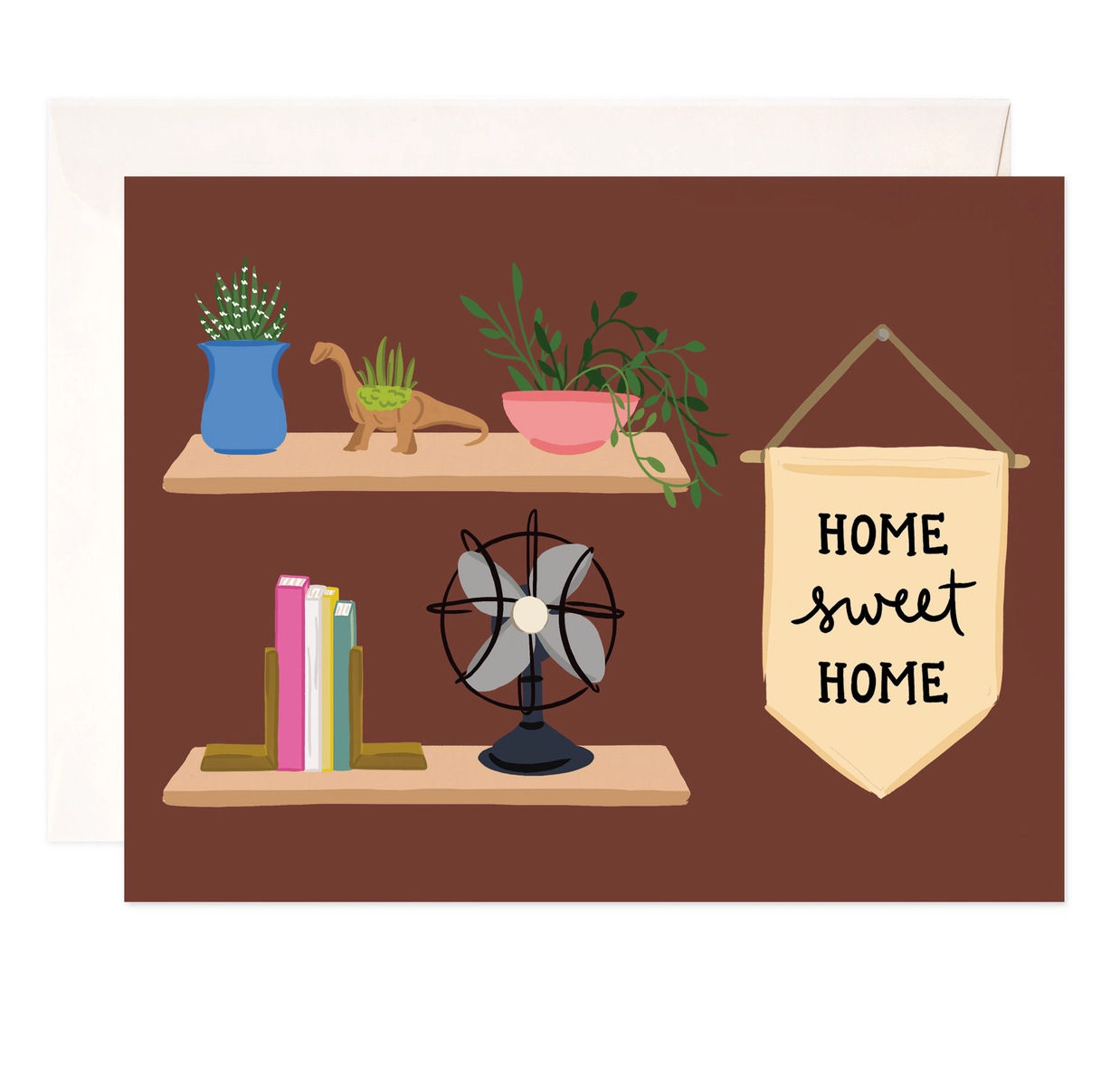 Bloomwolf Studio Home Sweet Home Greeting Card