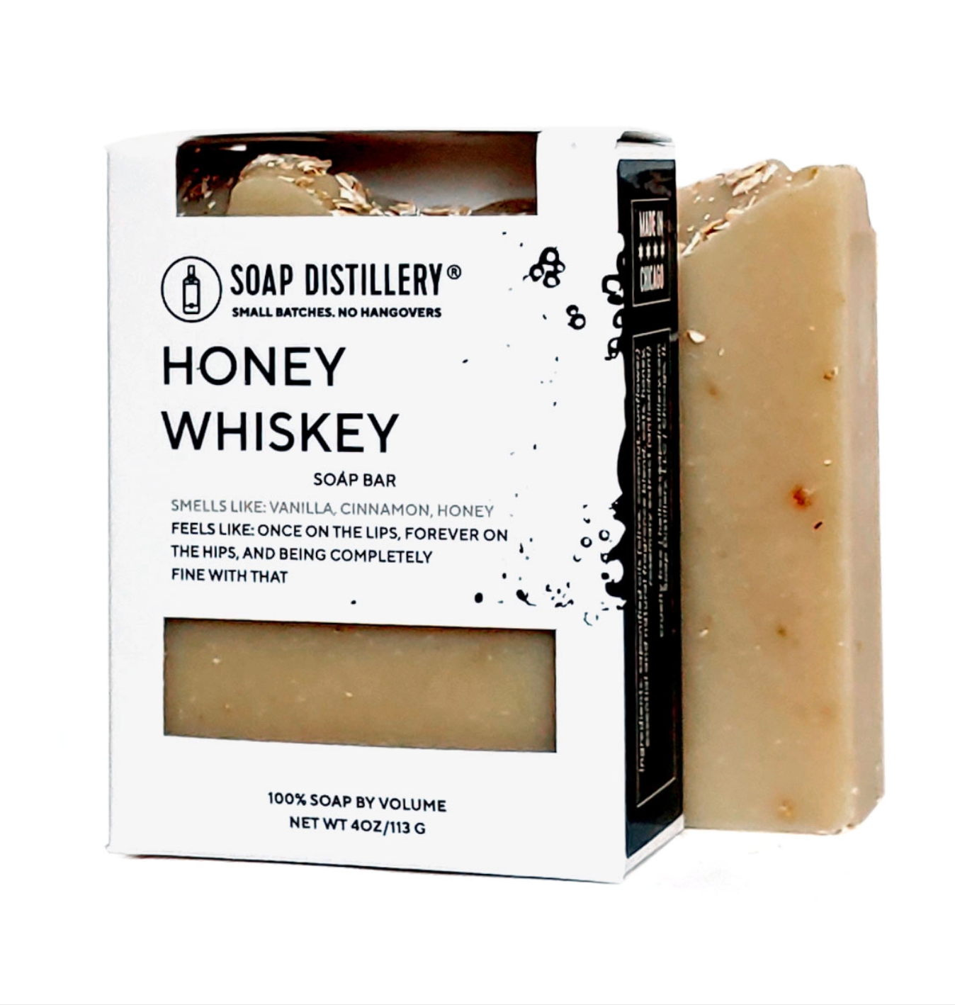 Soap Distillery Honey Whiskey Soap Bar