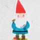 Natural Life Gnome Sticker