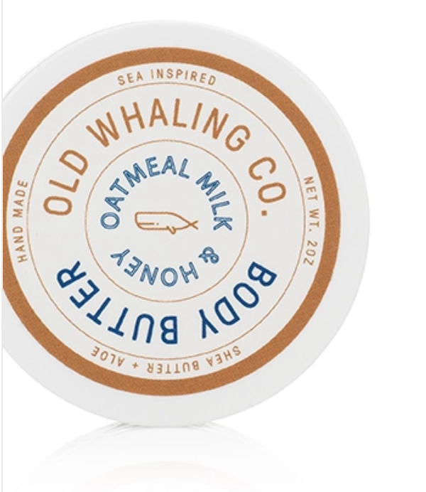 Old Whaling Company Oatmeal Milk+Honey Body Butter-Travel 2oz