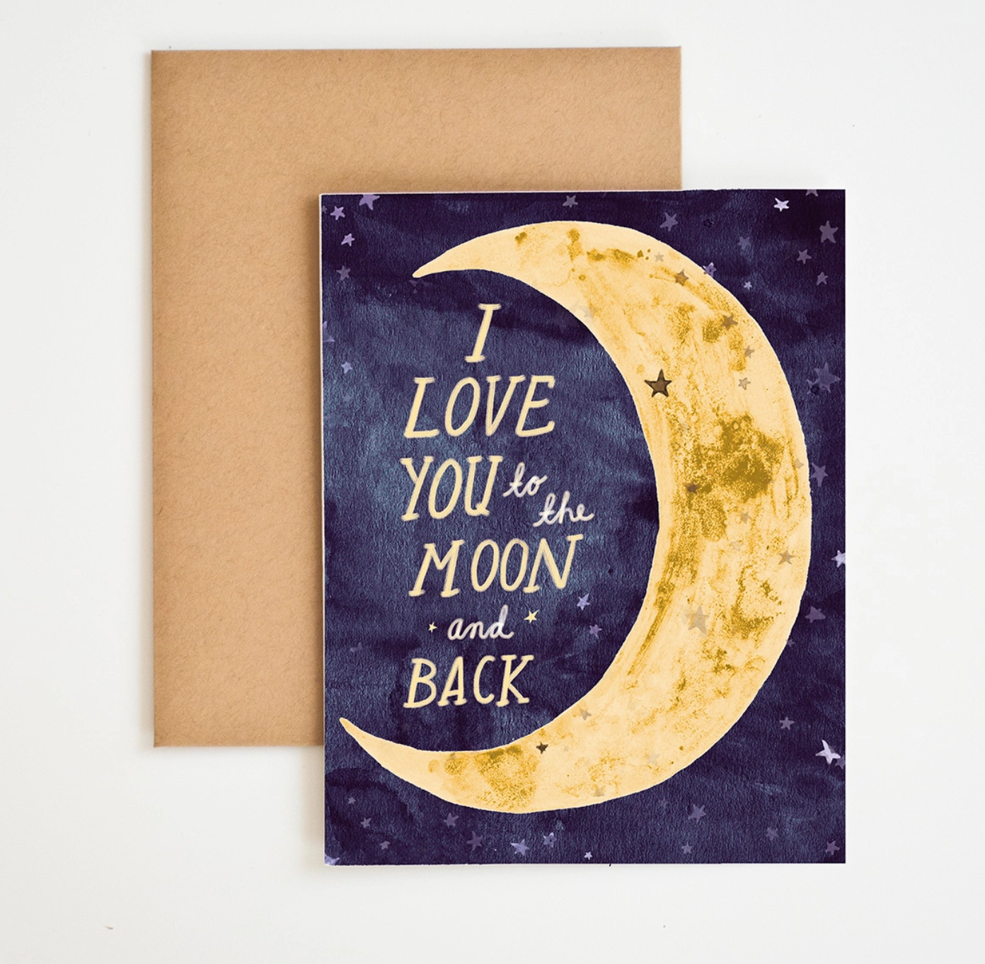 Meera Lee Patel To The Moon And Back Card