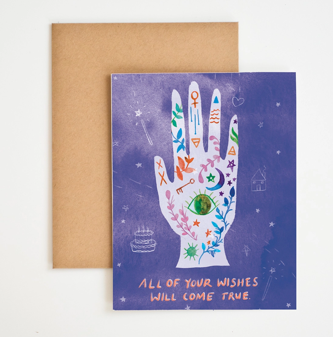 Meera Lee Patel Your Wishes Will Come True Card