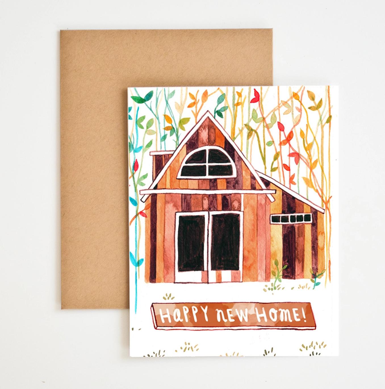 Meera Lee Patel Happy New Home Card