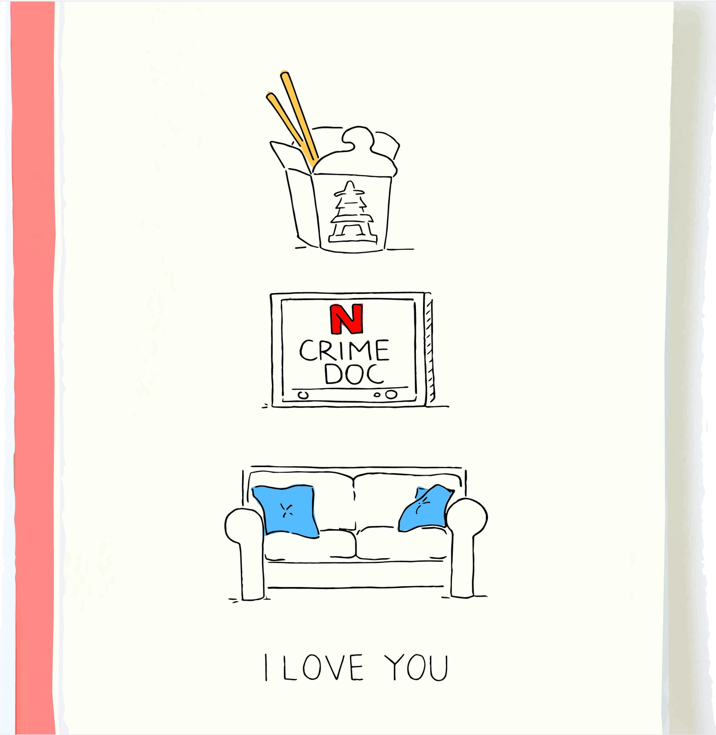 Pop + Paper Reasons I Love You Card