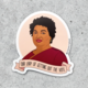 Citizen Ruth Stacey Abrams Our lady of voting Sticker