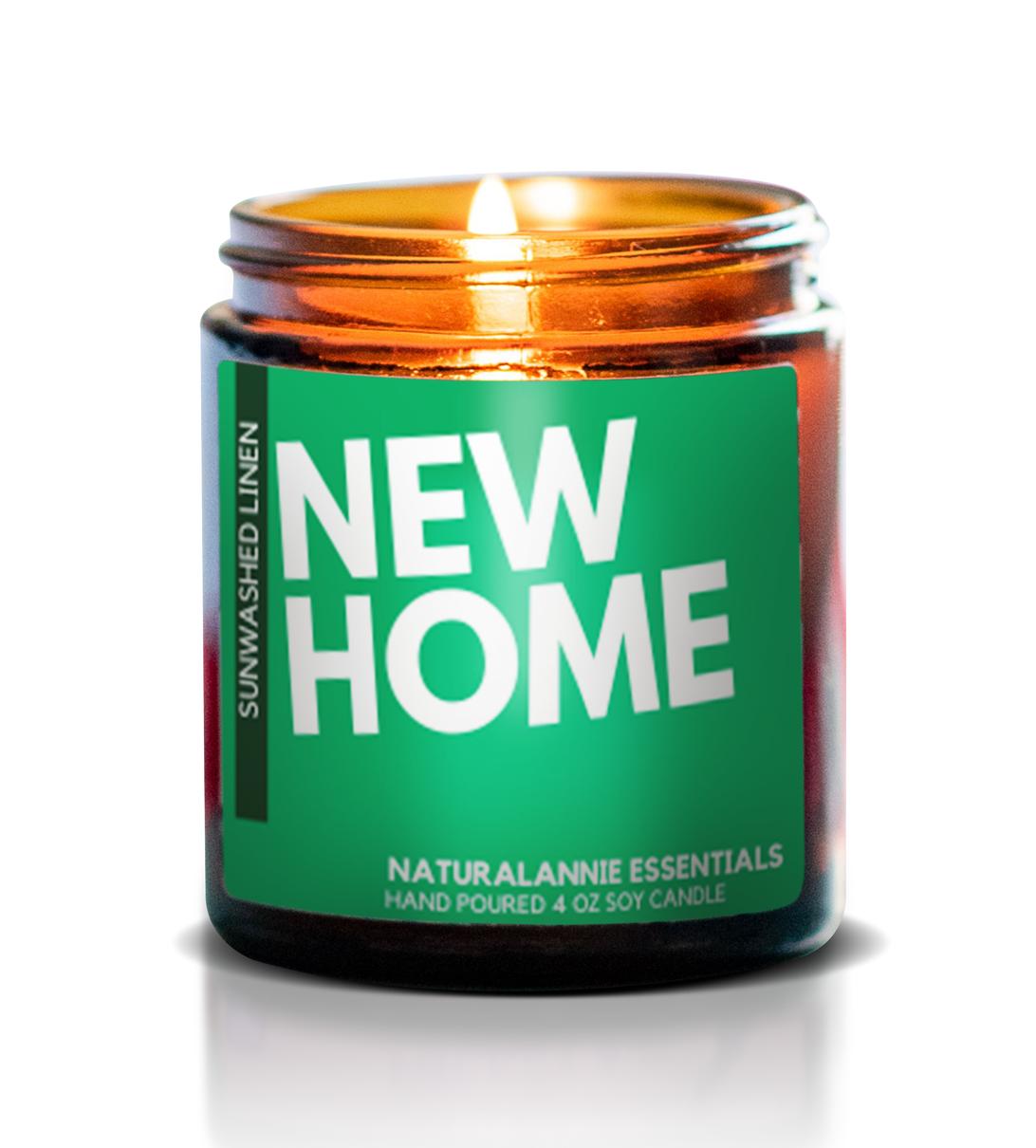 NaturalAnnie Essentials New Home - 4oz - Sunwashed Linen