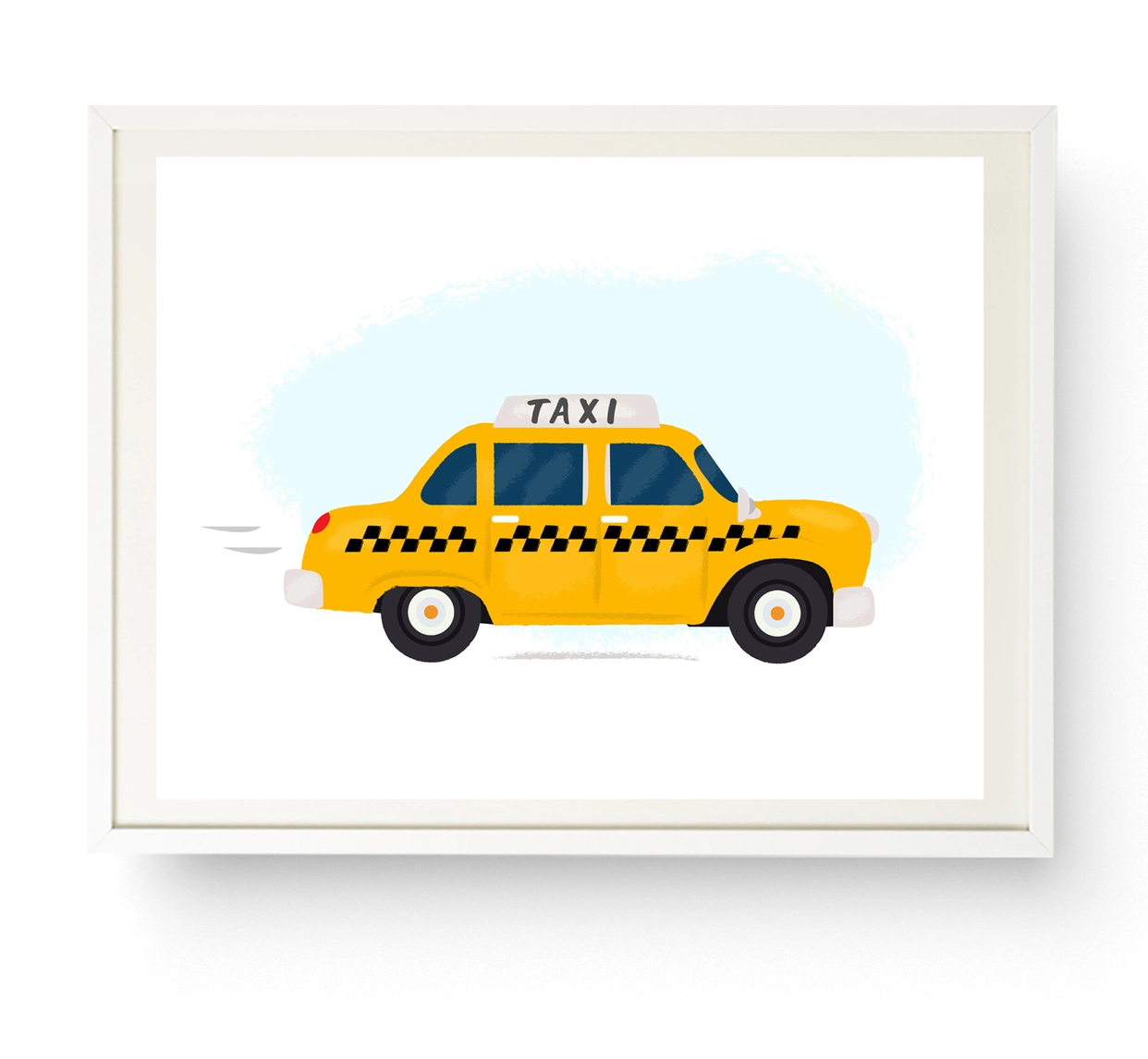 Nicole Marie Paperie New York Taxi Print