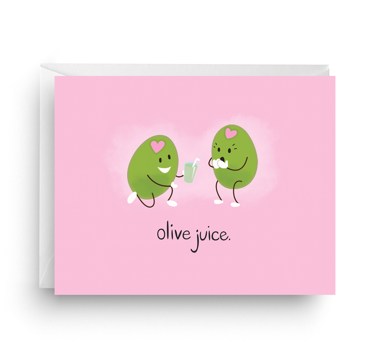 Nicole Marie Paperie Olive Juice - Love Card