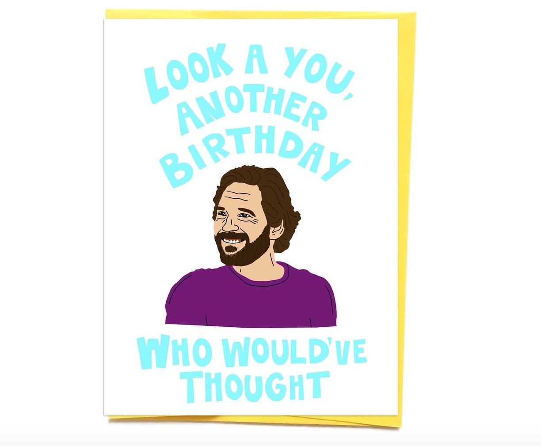 Siyo Boutique Paul Rudd Birthday Card