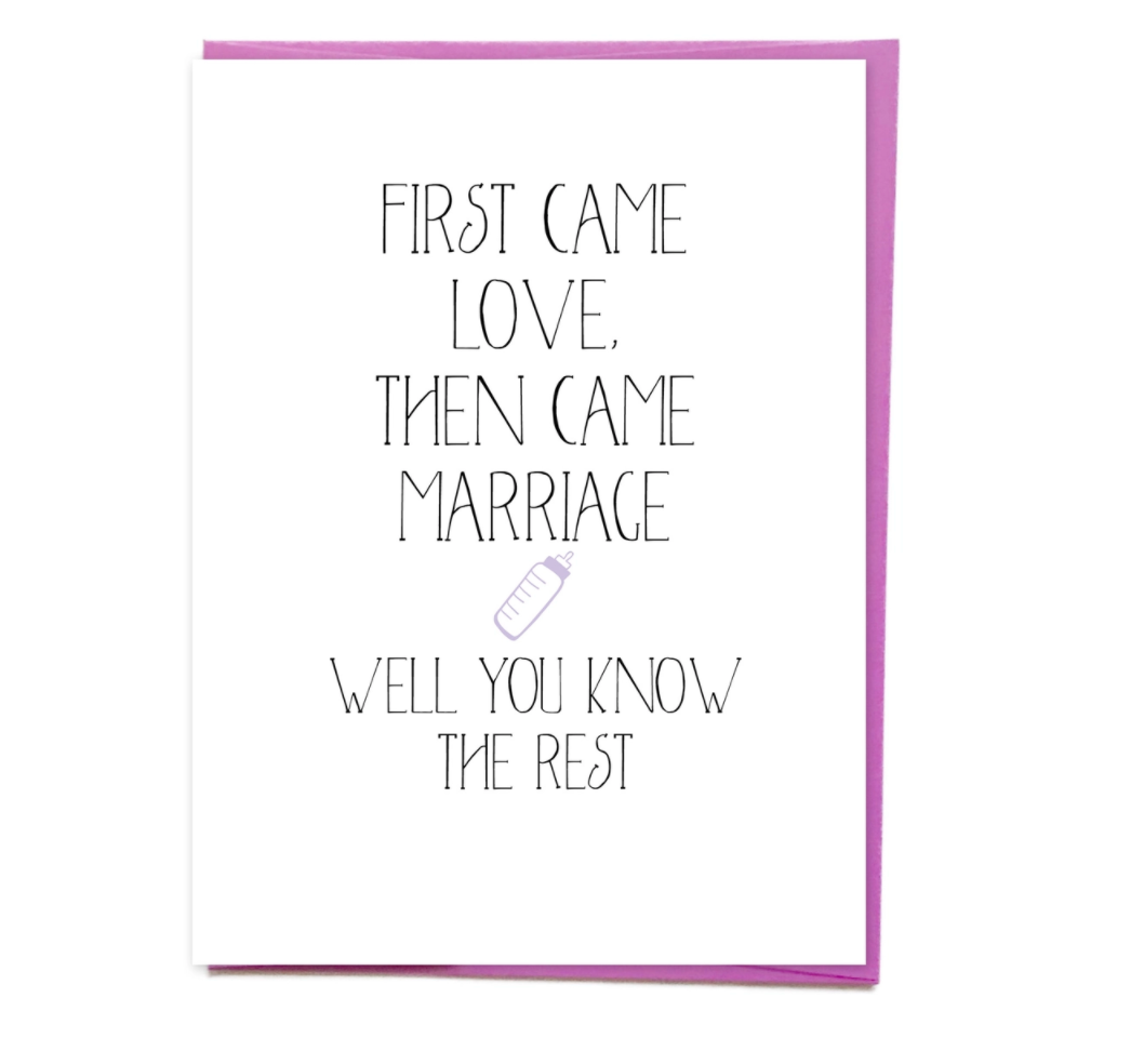 Siyo Boutique First Came Love Card