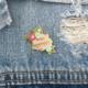 Little Lovelies Studio Badass Breastfeeder Enamel Pin