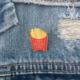 Little Lovelies Studio Fries Before Guys Enamel Pin