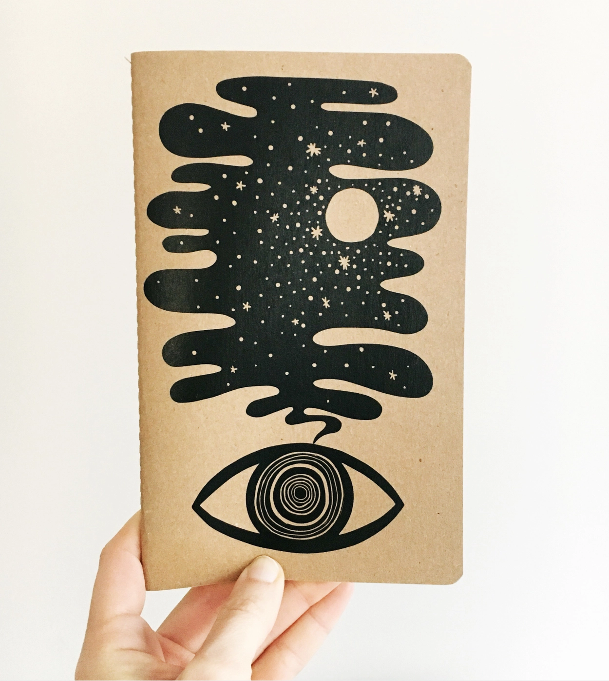 The Rainbow Vision Eye Dream Notebook