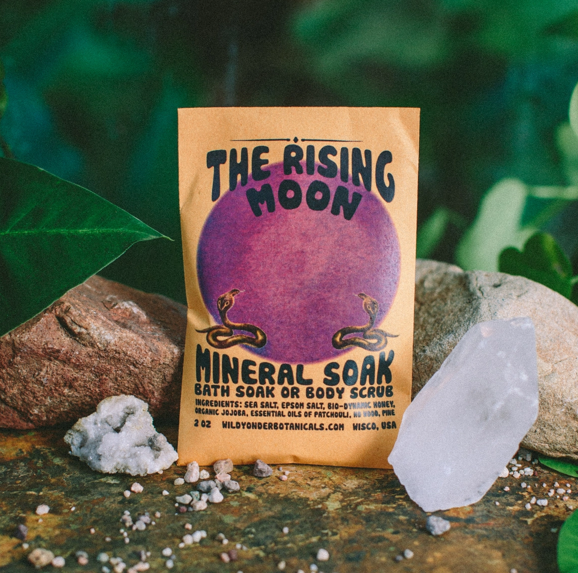 Wild Yonder Botanicals Rising Moon Mineral Soak