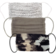 Kitsch Cotton Mask 3pc Set - Neutral