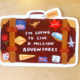 Abbie Paulhus Million Adventures Sticker
