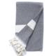 Beach House Towels Tokyo Turkish Towel-Black