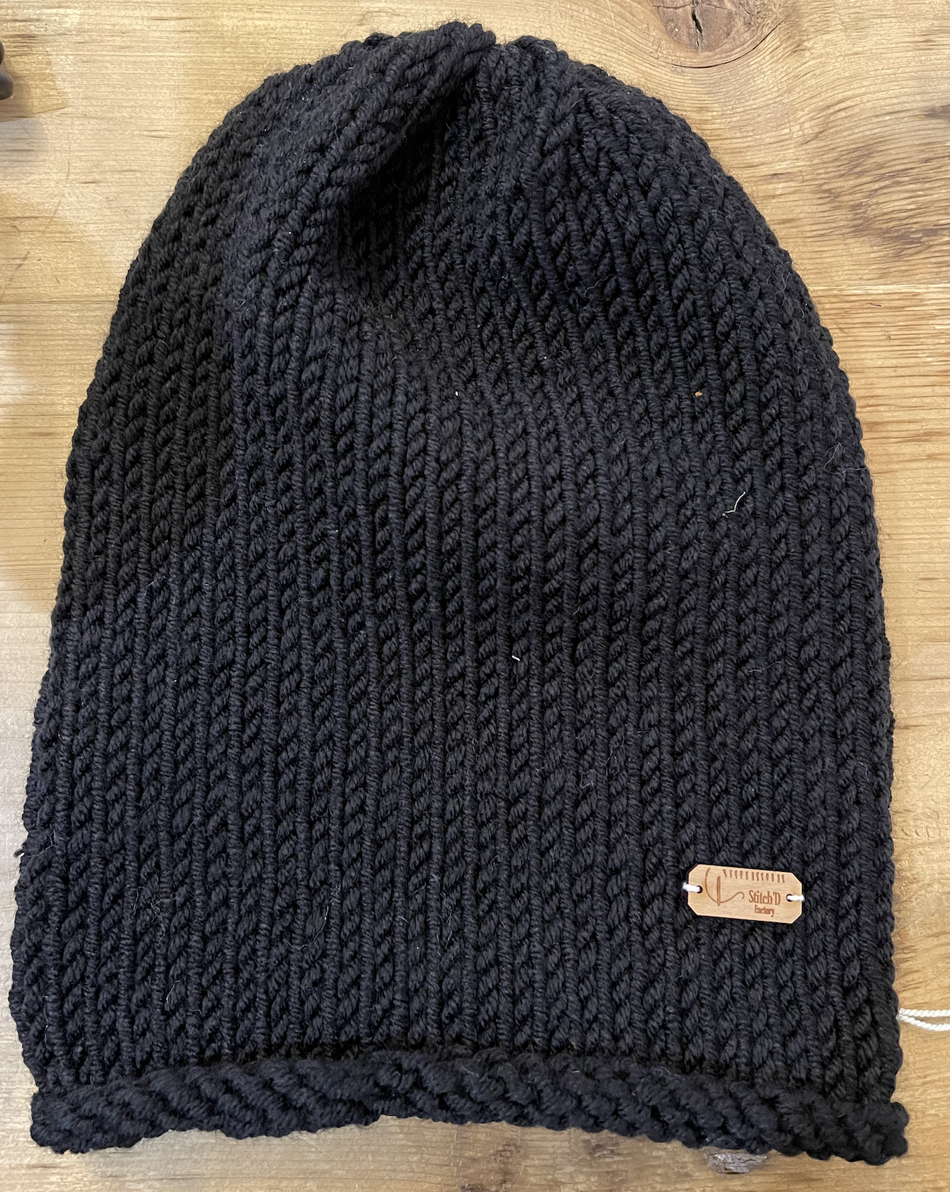 Stitch'D Factory Please Tri Beca Beanie-Black-FINAL SALE