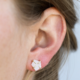 JaxKelly Earring - White Prong Druzy